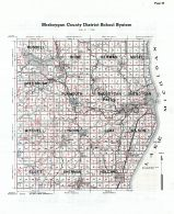 Sheboygan County School District Map, Sheboygan County 1941